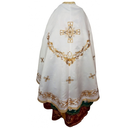 To Order Or Buy A High Quality Vestment For The Priest Fabric Gabardine Velvet Satin With A Set Felon Epitrachille Cuffs Belt Covering On The Bowl Nabedrennik Ipoghonatio Delivery Via Ukraine Or The World